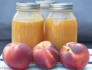 Fresh Peach Nectar