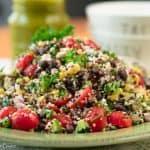 Healthy Southwestern Quinoa Salad