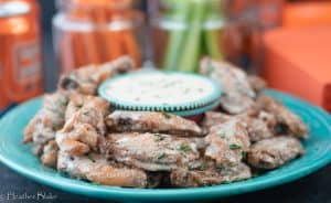 Alabama White Sauce Chicken Wings
