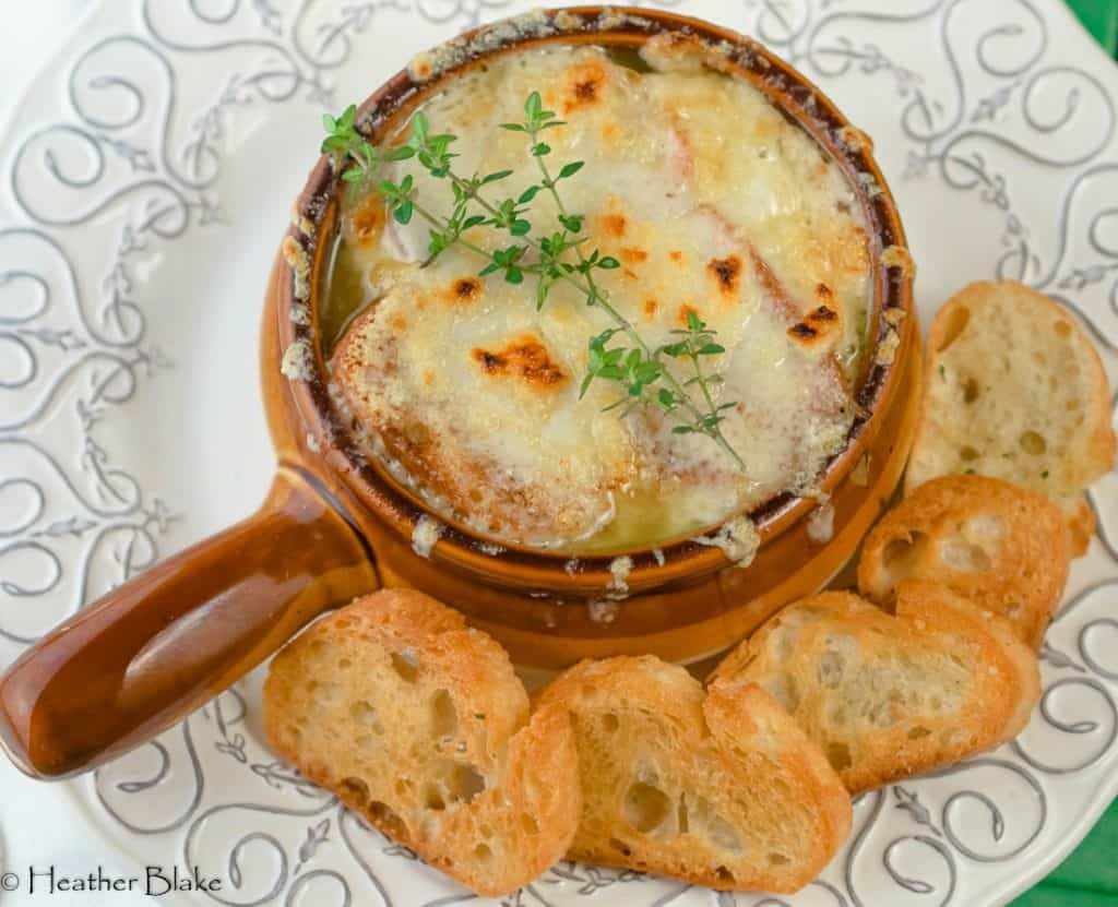 French Chicken Onion Soup