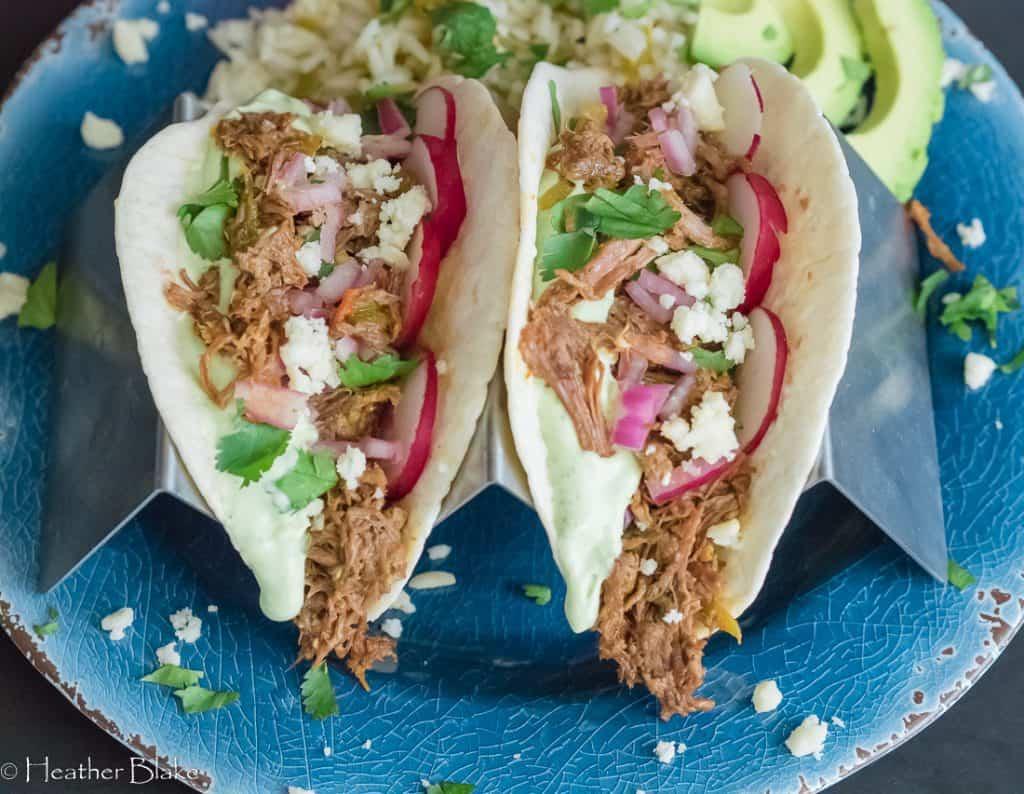 Beef Brisket Street Tacos