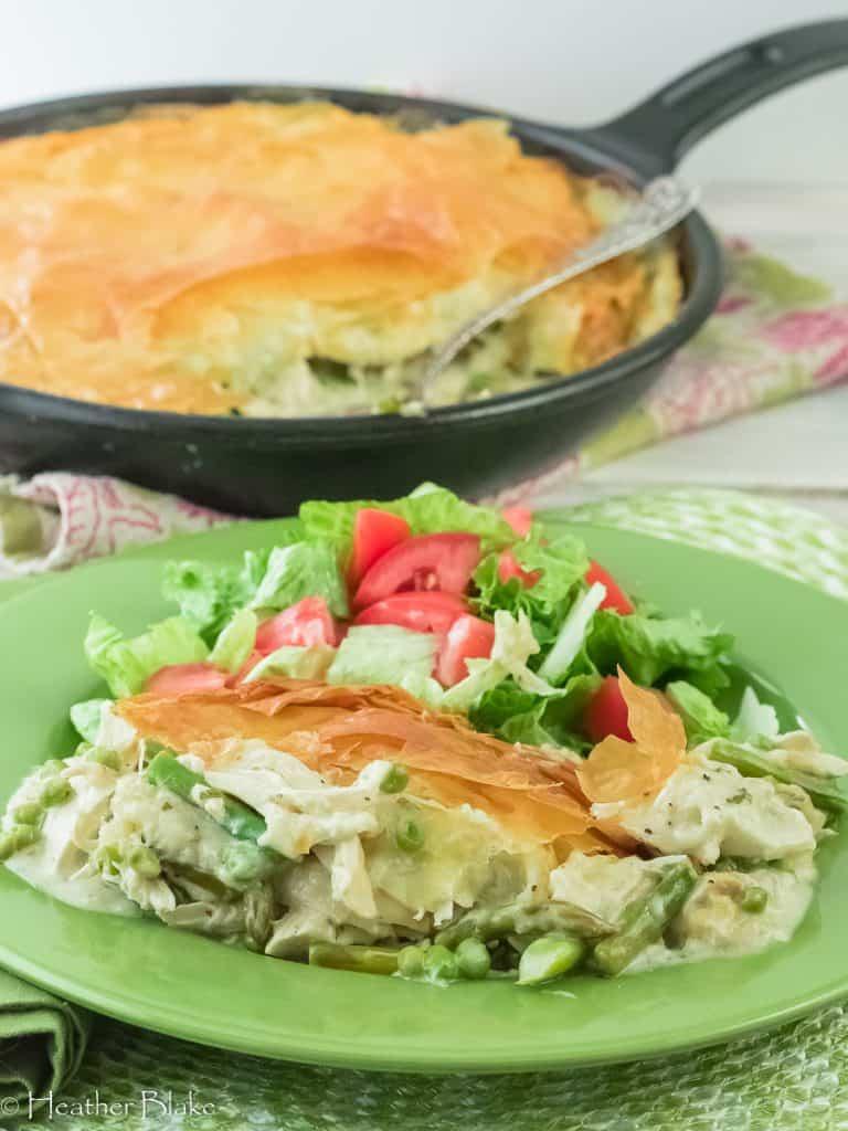 Spring Chicken Pot pie!