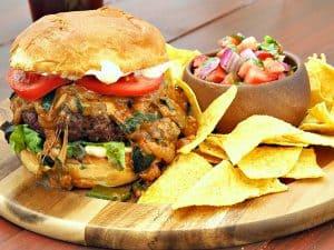 Queso Fundido Burger