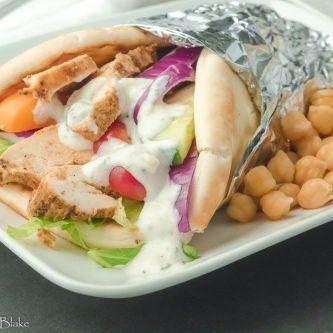 Grilled Chicken Shawarma