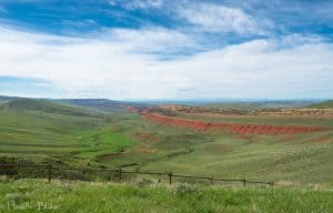 A picture of Red Canyon near Landon, Wyoming
