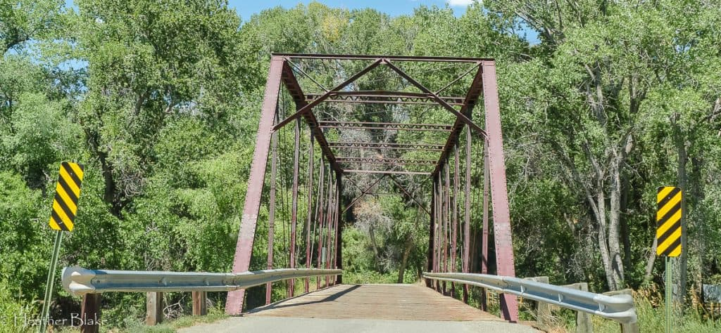 A picture of Black Bridge in Paonia, Colorado