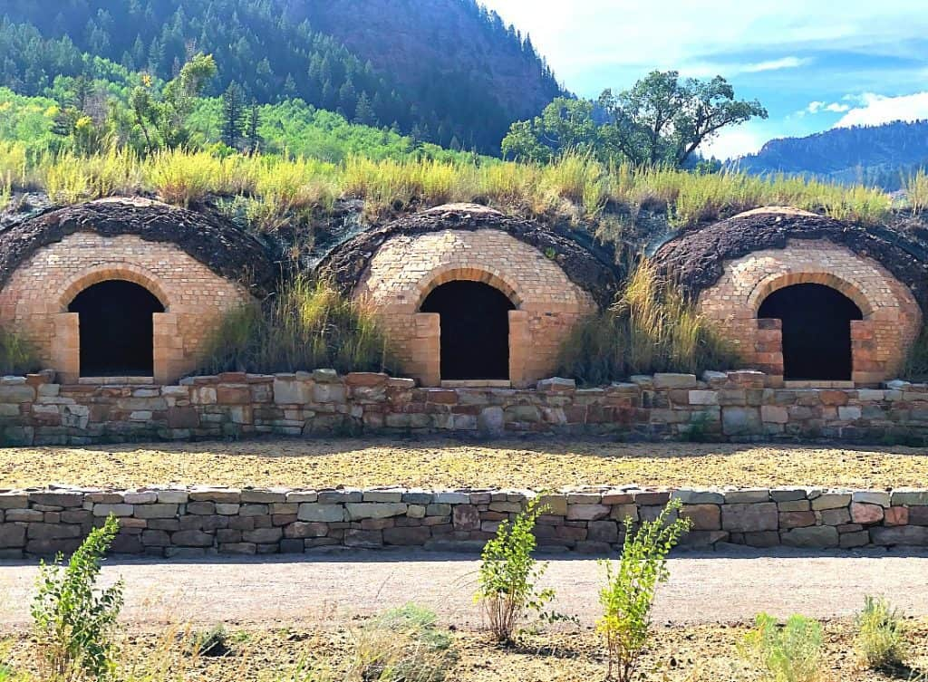 "The ""coke""ovens in Redstone, Colorado part of the West Elk Loop Scenic Byway"