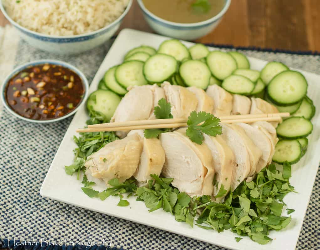 A picture of Weeknight Hainanese Chicken Rice